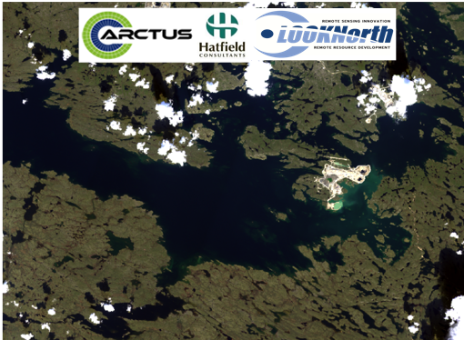 Arctic lakes chlorophyll-a monitoring : The case study of Lac De Gras, NWT, Canada
